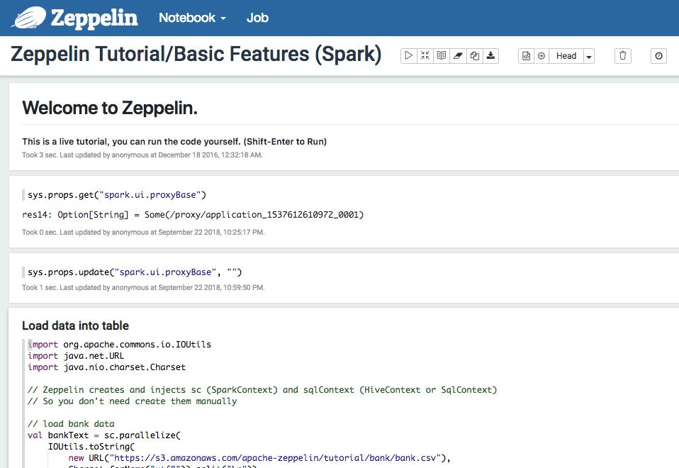 Apache Spark Web UI on Amazon EMR